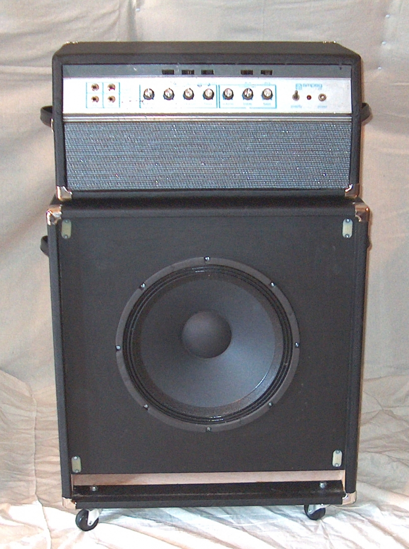 1x15 Guitar Cabinet Speaker Cabinet 1x15 Reflex Port Svt And Others Product Details