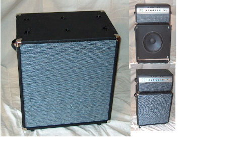 Speaker Cabinet 1x15 Reflex Port, SVT and Others - Product Details