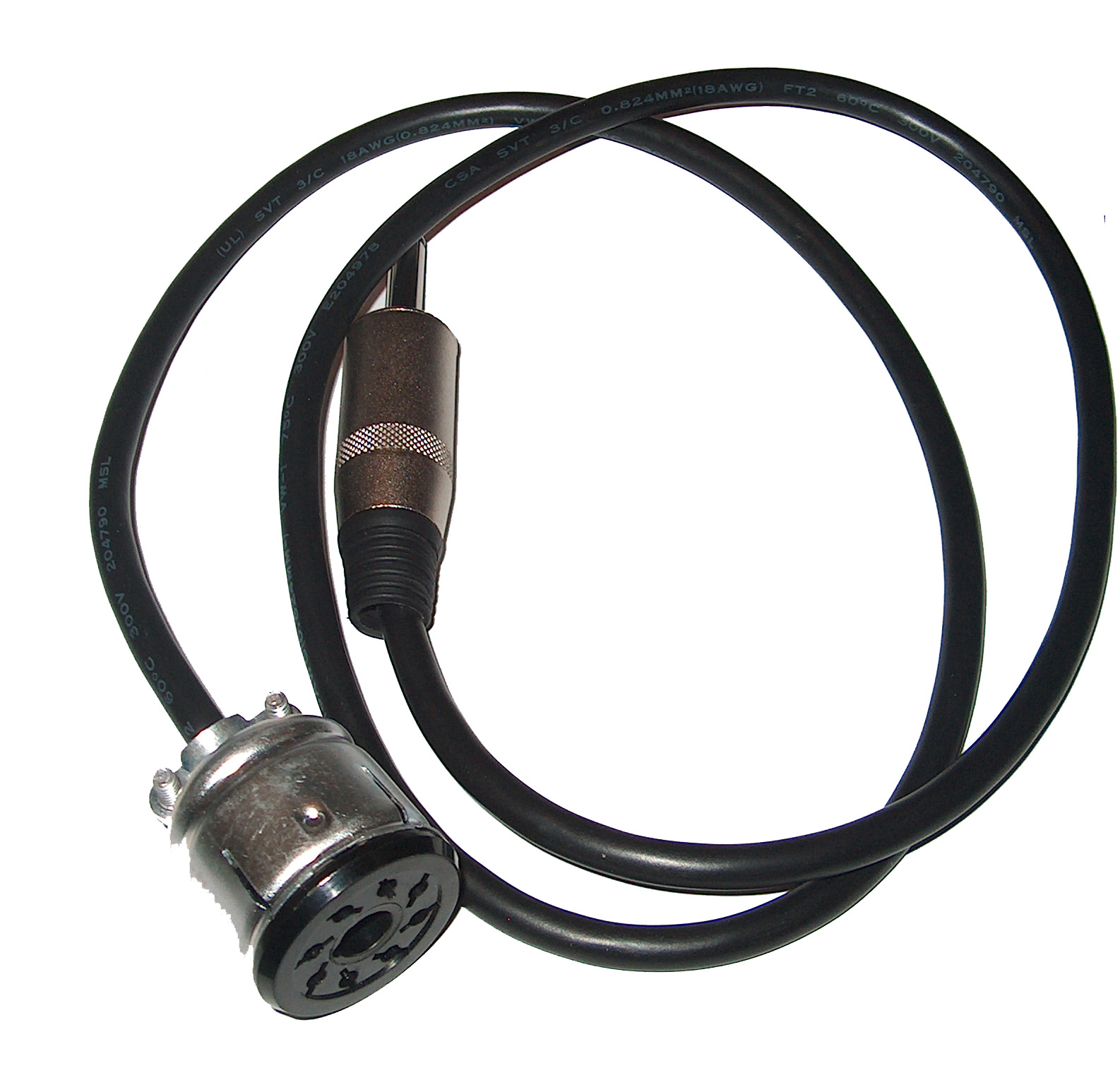 Ampenol to 1/4` conversion cable.