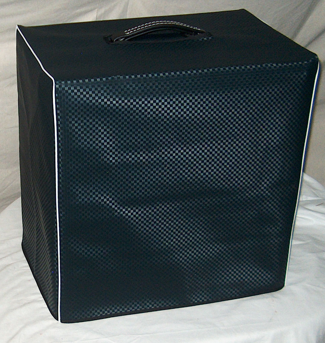 Blue Diamond Vinyl Cover for Ampeg B15N
