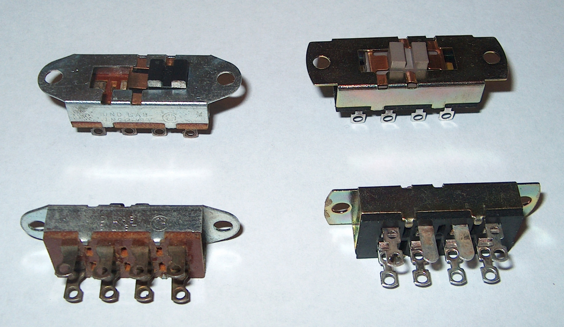 Ohms selector switch