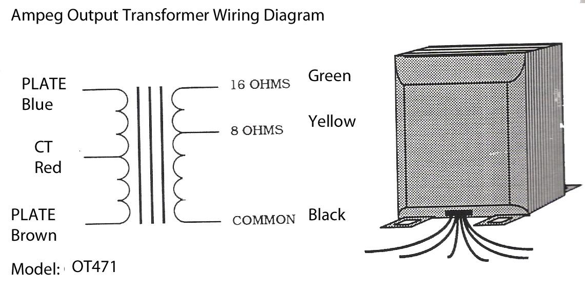 [SCHEMATICS_4PO]  Output Transformers   Output Transformer Wiring Diagram      Fliptops