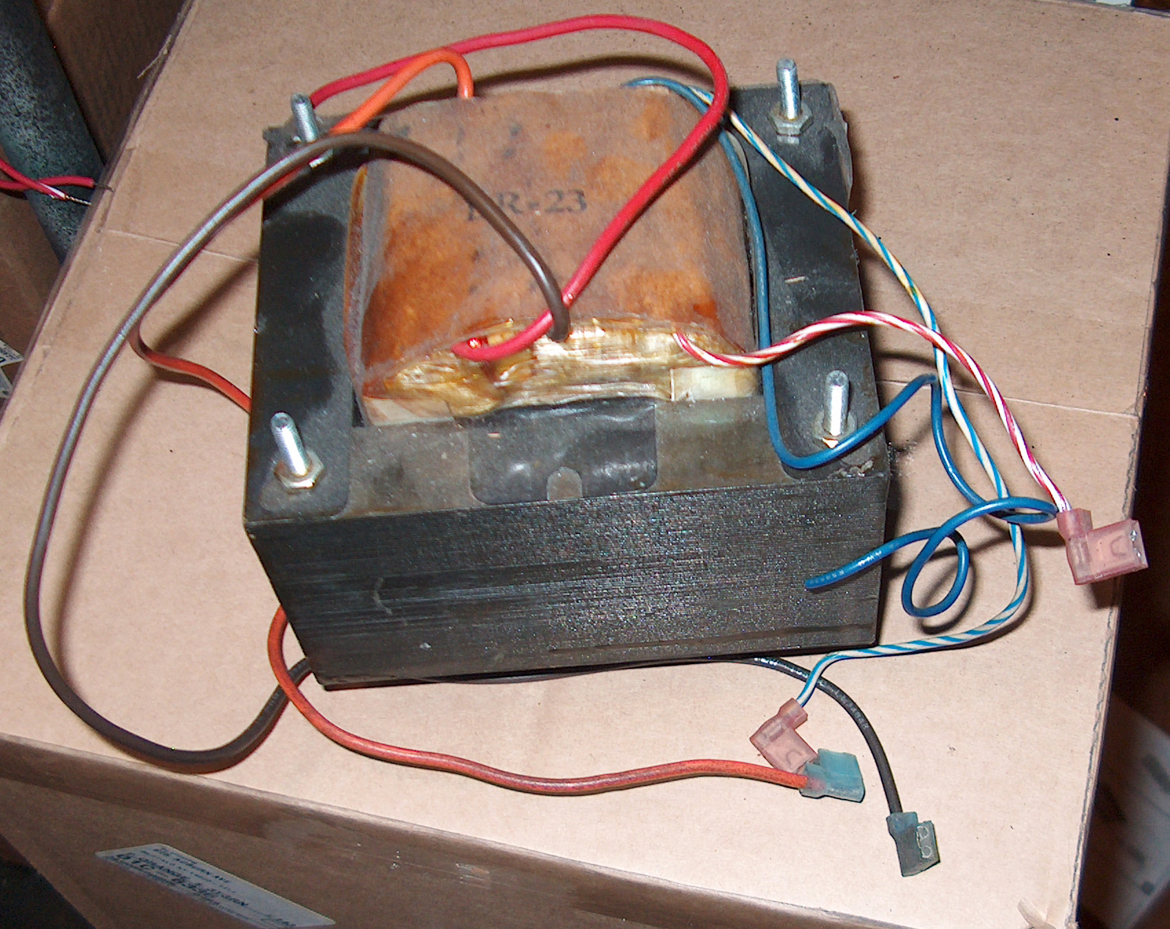 SVT CL Output Audio Transformer, Early Version